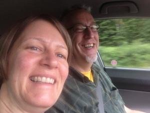 2 happy travellers